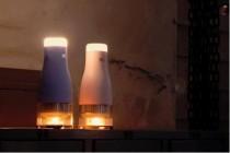 韩国公司发明蜡烛供电台灯
