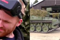 坦克也疯狂!德国VR极客将坦克开上街