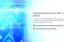 微软SQL Server 将在6月1日正式上市