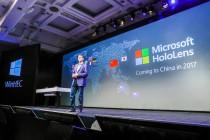 HoloLens 明年进中国 微软还将给中国厂商开放一些黑科技