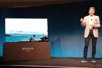 索尼发布首款OLED电视 屏幕可以发布声音