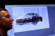 奥迪在CES宣布将联手英伟达共同加码无人驾驶技术研发