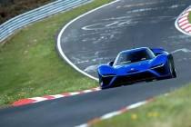 蔚来EP9刷新德国纽博格林北环赛道的最快量产车圈速纪录