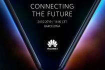华为余承动公布华为5G折叠屏手机发布会邀请函,将于2月24日正式发布