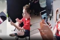 小米CC手机视频曝光,水滴屏三摄像头
