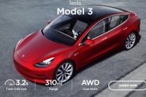 特斯拉在韩国推出Model 3,政府补贴后不到20万人民币