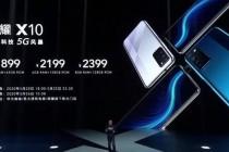 荣耀X10手机发布,成为目前最便宜的5G手机