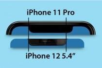 外媒曝光iPhone 12与iPhone 11 Pro平面顶端对比图