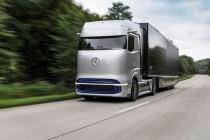 戴姆勒发布奔驰氢燃料电池概念卡车GenH2,2025年量产