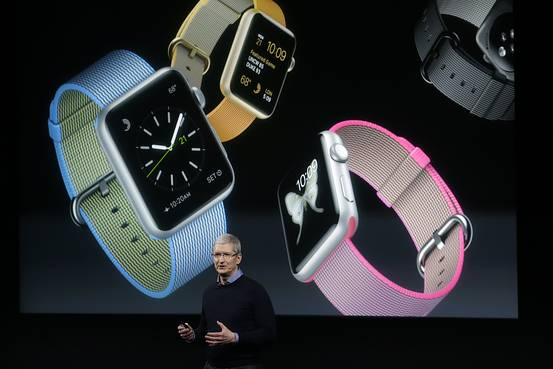 APPLE WATCH销量超过IPhone