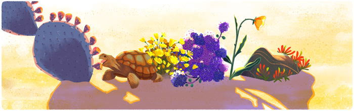Google-Doodle-Earth-Day-Turtle